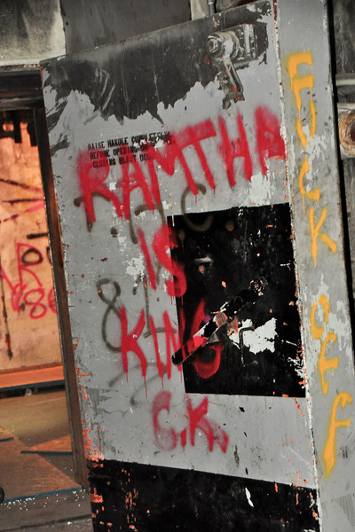Internal blast door.  Ramtha says keep closed or fuck off.