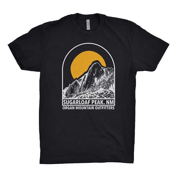 Organ Mountain Outfitters - Outdoor Apparel - Mens T-Shirt - Sugarloaf Peak Tee - Black.jpg