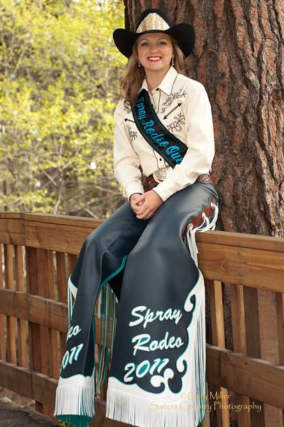 Sara Buckmann - Spray Rodeo Queen 2011