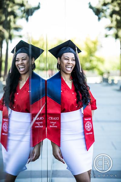 Markeshia's Graduation Portraits