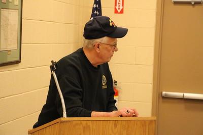 Rush Township Supervisors Meeting, Budget Meeting, Municipal Building, Hometown (11-20-2014)