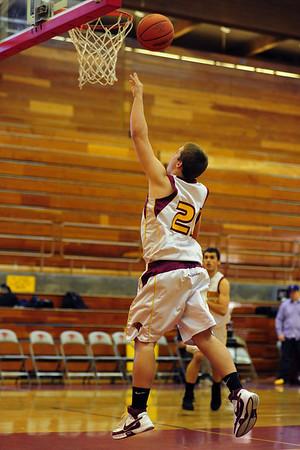 Torrey Pines Boys JV Basketball vs LCC, Jan 30 09