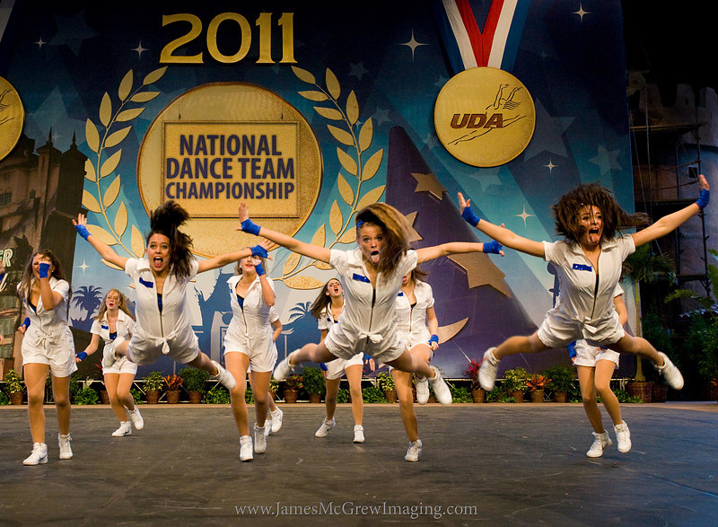 Lake Oswego HS Laker Dance Hip Hop Routine at Nationals in Orlando, FL