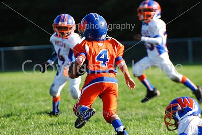 """Westlake Bulldogs """"Ankle Biters"""" Orange vs Blue 10-4-08"""