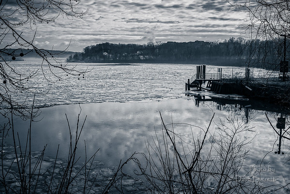 Meig's Point & Ct River - January 2015