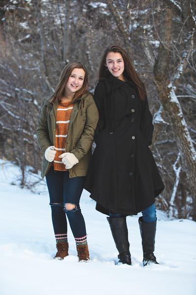 2018 Allison & Kaori in the Snow