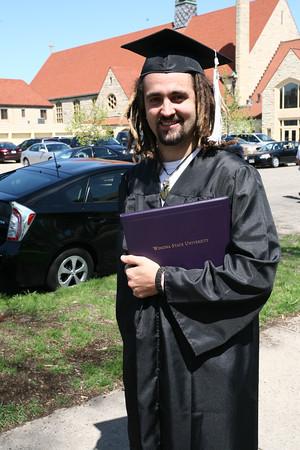 Zac Winona graduation