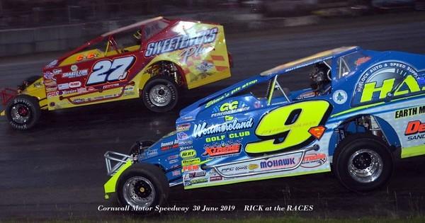 Cornwall Motor Speedway - Super DIRTcar Series - 6/30/19 - Rick Young