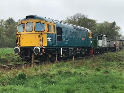 33102 - Foxfield Railway, 27th April 2019