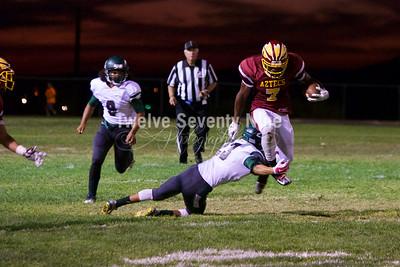 2015 Aztec Varsity vs Burroughs 9.25