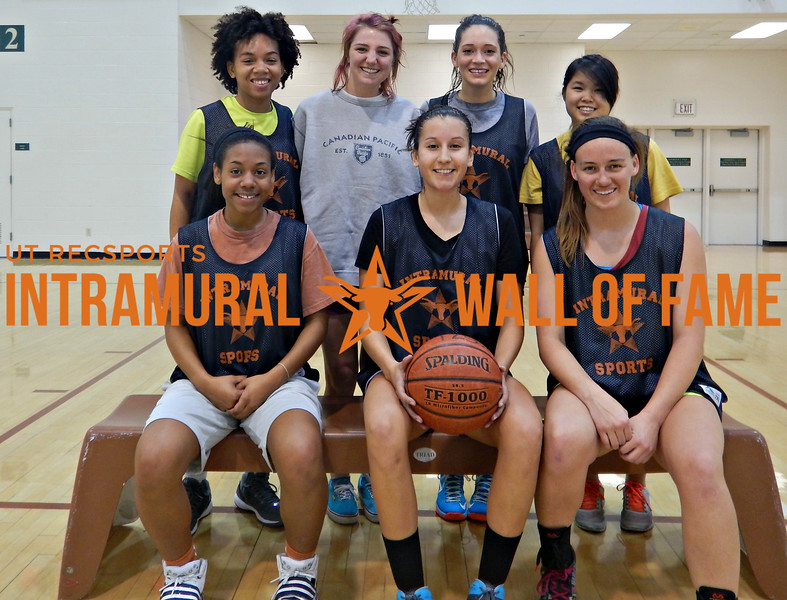 BASKETBALL Women's Runner Up  Reigning Buckets  R1: Kendall Brookins, Laura Cotrino, Hallie Pace R2: Tianna Cobb, Christian Dowdle, Stevie Ray, Annie Truong