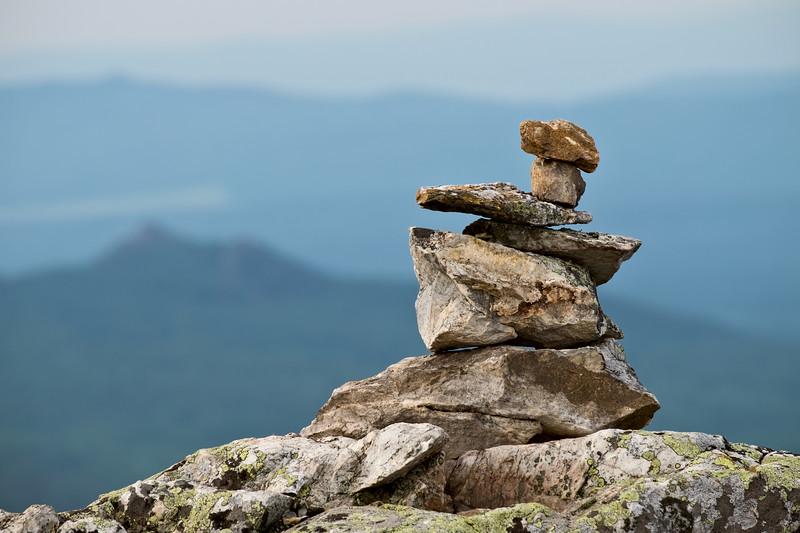 Pile of balanced stones
