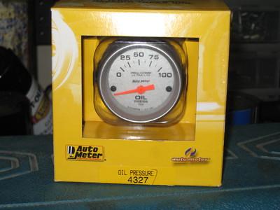 Oil Pressure Gauge Install