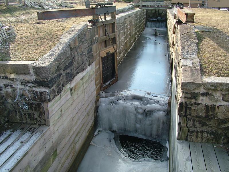 Swamp Lock frozen gate