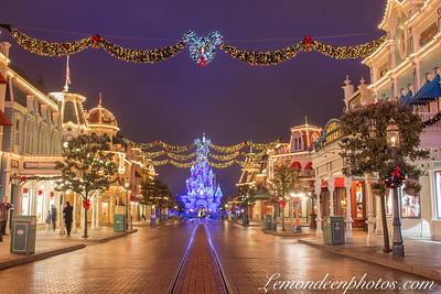 Noël à Disneyland Paris