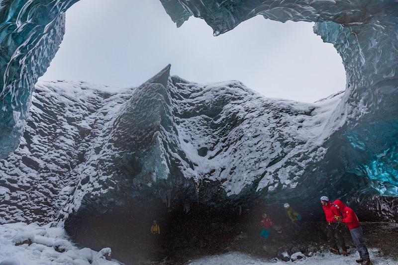 Ice Cave in Vatnajokull NP