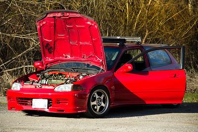 1995 Honda Civic Photo Session