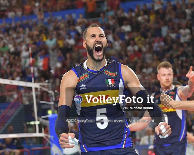 Osmany JUANTORENA, celebrates a point