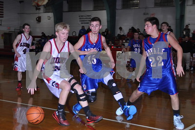La Moille-Ohio Boys Basketball Game, Jan. 16, 2015