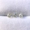 1.54ctw Antique Cushion Cut 3-stone Suite 11