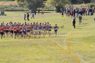 Boys Varsity Start - 2012 Waterford Mott Fall Cross Country Classic