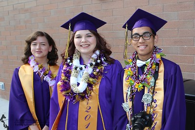 Oak Harbor High School graduation 2017