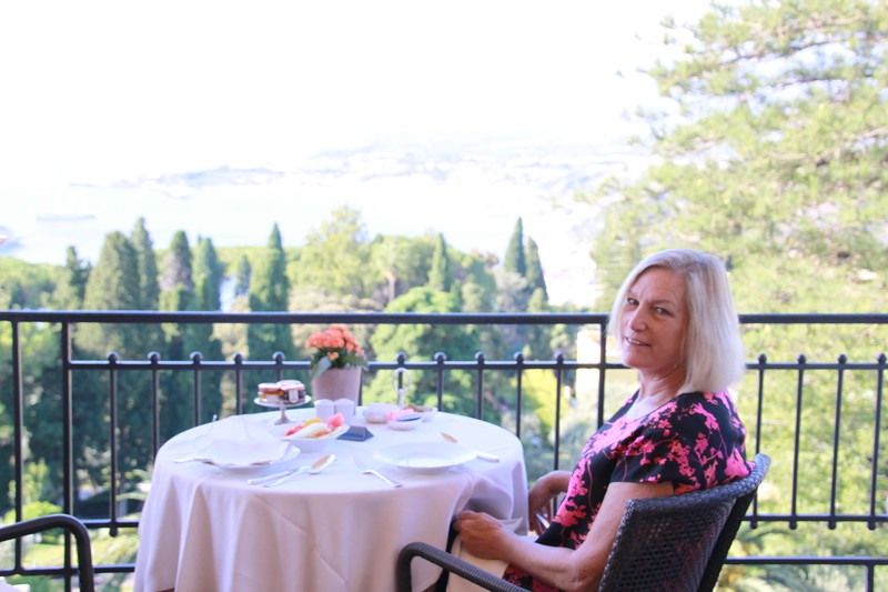 Lunch at the Belmond Grand Hotel Timeo, Taormina