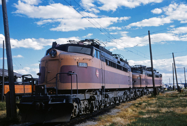 Milwaukee Road - Chicago, Milwaukee, St Paul and Pacific Railroad