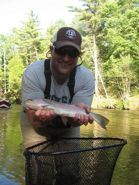 Jeff Rainbow Trout on Hopper - 7.11.09.jpg