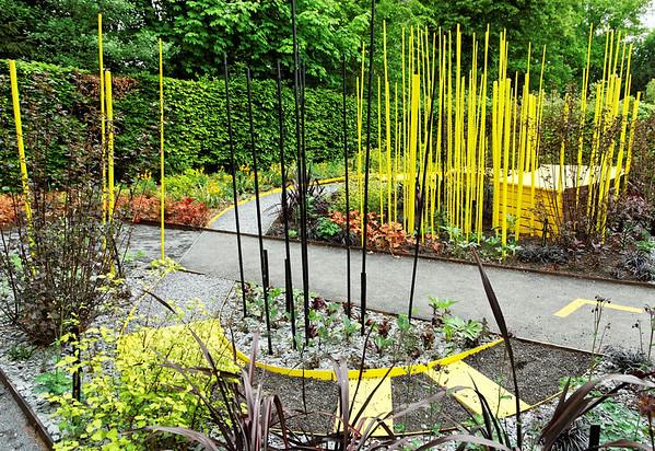 """2009 - Jardins de couleur - Festival des Jardins de Chaumont - Jardin """"Le jaune dort"""""""