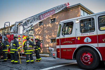 2 Alarm School Fire - 135 Butler St at the Bruce School, Lawrence, MA - 11/14/16