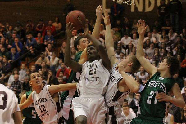 WUHS Boys Basketball vs Lyndon in Finals