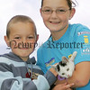 Andrew Trimble and Amanda Trimble pictured with their kitten Kitty at the pet show during the Markethill festival. 06W32N11