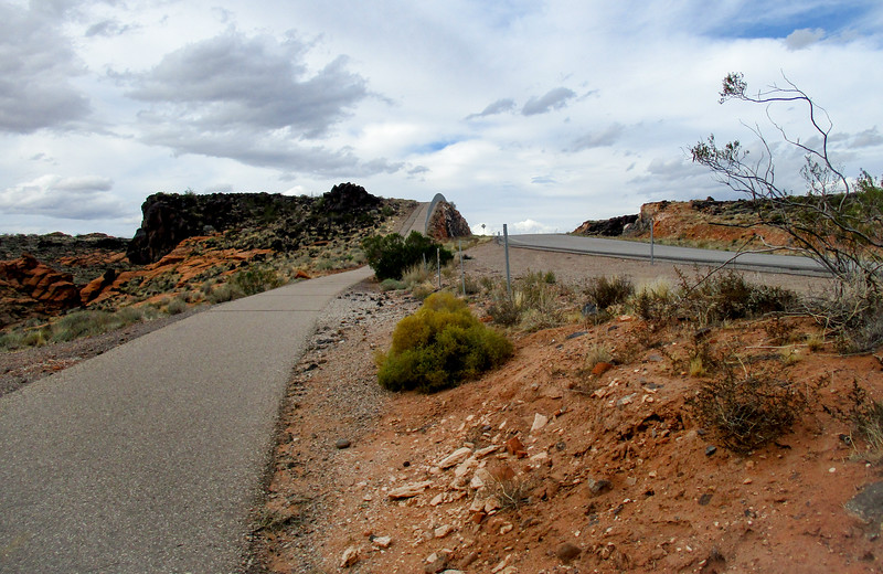 While cars get to enjoy hillside cuts, many are left for cyclists to climb. They can be steep.