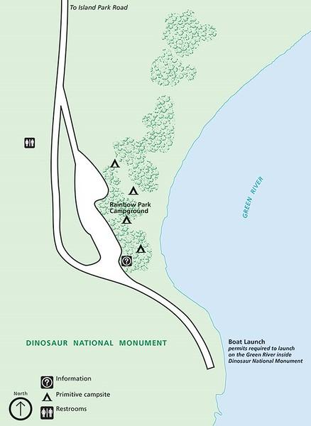 Dinosaur National Monument (Rainbow Park Campground)