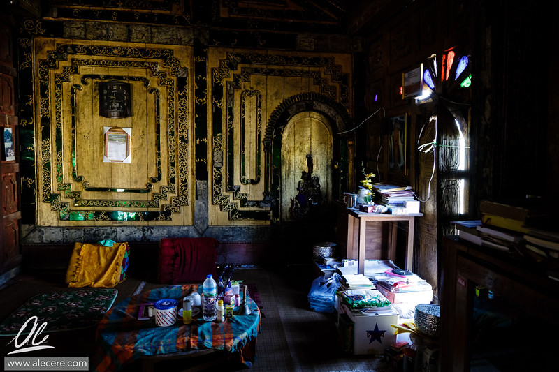 A corner of the monastery