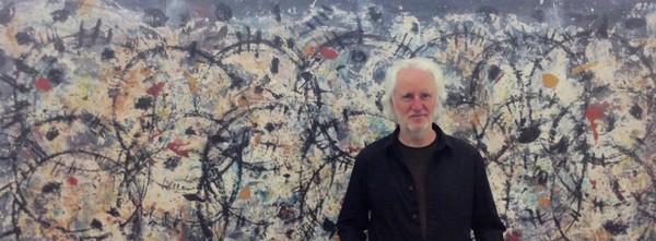 David Rankin  Gil Gal-tracks I, 2016, Acrylic on canvas, 140 x 223 cm