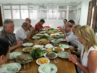 Tour of Caritas Vietnam & Dinner With Staff