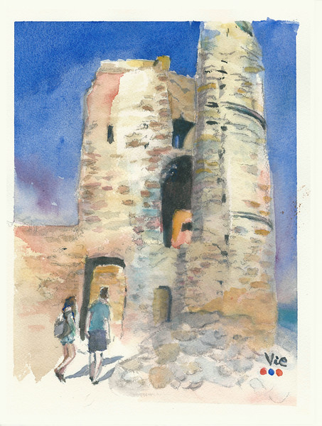 No.232 Le château de Grimaud.jpg
