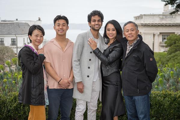 Carol and Vijay - surprise engagement - post processed