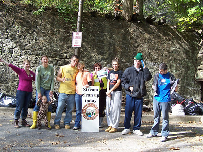 10.24.10 Patapsco River Cleanup in Historic Ellicott City