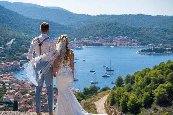 Fabrice and Shoana - Destination Wedding Croatia