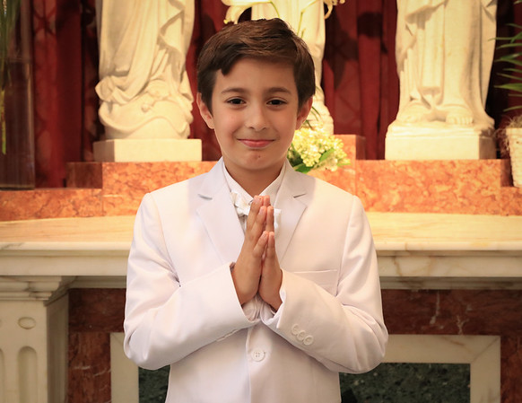 Nico's First Holy Communion