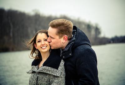 Jill and Julian engagement shoot