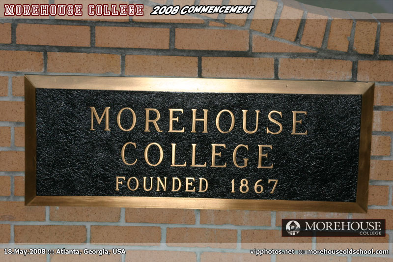 Morehouse College 2008 Commencement ::: Atlanta, GA, USA [May.18.2008]