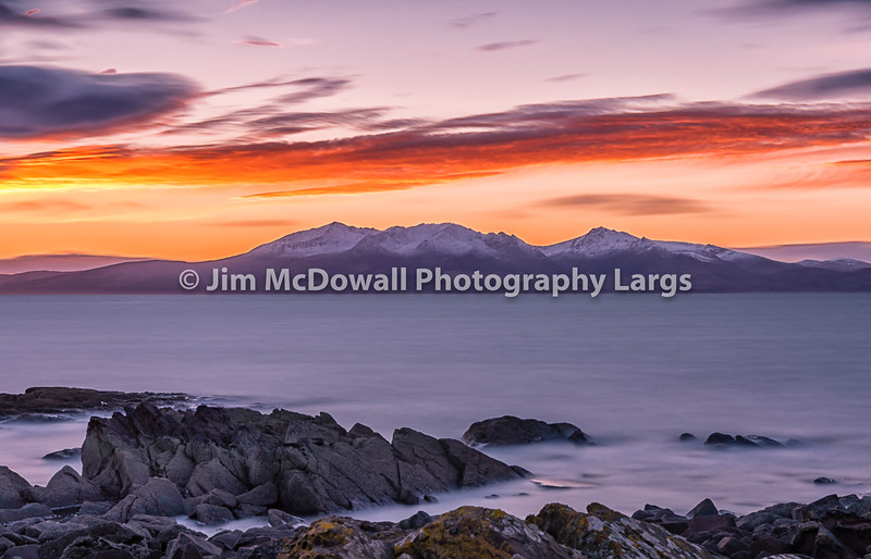 Sunset on Arran Winter Scene copy.jpg