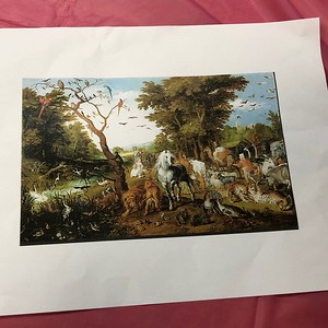 K-3rd Art Project-Brueghel the Elder's Entry of Animals into the Ark