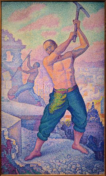Paul Signac, Le Démolisseur, 1897-1899