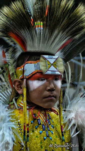 Faces of the Pow Wow ( Choctaw Pow Wow) l - 2016