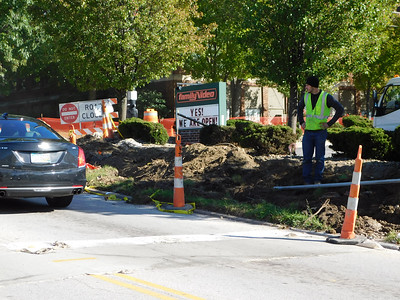 Smith Road closed under construction